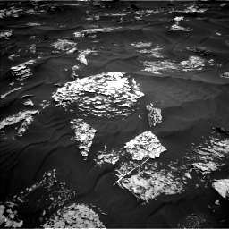 Nasa's Mars rover Curiosity acquired this image using its Left Navigation Camera on Sol 1781, at drive 2802, site number 64