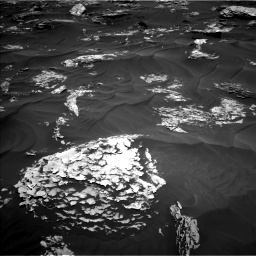 Nasa's Mars rover Curiosity acquired this image using its Left Navigation Camera on Sol 1781, at drive 2814, site number 64