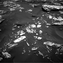 Nasa's Mars rover Curiosity acquired this image using its Left Navigation Camera on Sol 1781, at drive 2880, site number 64