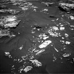 Nasa's Mars rover Curiosity acquired this image using its Left Navigation Camera on Sol 1781, at drive 2886, site number 64