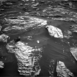 Nasa's Mars rover Curiosity acquired this image using its Left Navigation Camera on Sol 1781, at drive 2916, site number 64