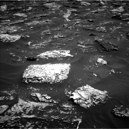 Nasa's Mars rover Curiosity acquired this image using its Left Navigation Camera on Sol 1781, at drive 2952, site number 64