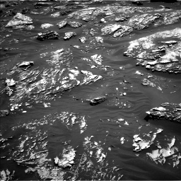 Nasa's Mars rover Curiosity acquired this image using its Left Navigation Camera on Sol 1781, at drive 2988, site number 64