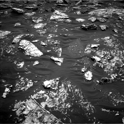 Nasa's Mars rover Curiosity acquired this image using its Left Navigation Camera on Sol 1781, at drive 3006, site number 64