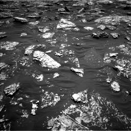 Nasa's Mars rover Curiosity acquired this image using its Left Navigation Camera on Sol 1781, at drive 3012, site number 64