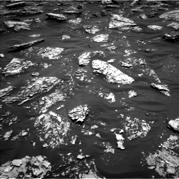 Nasa's Mars rover Curiosity acquired this image using its Left Navigation Camera on Sol 1781, at drive 3018, site number 64