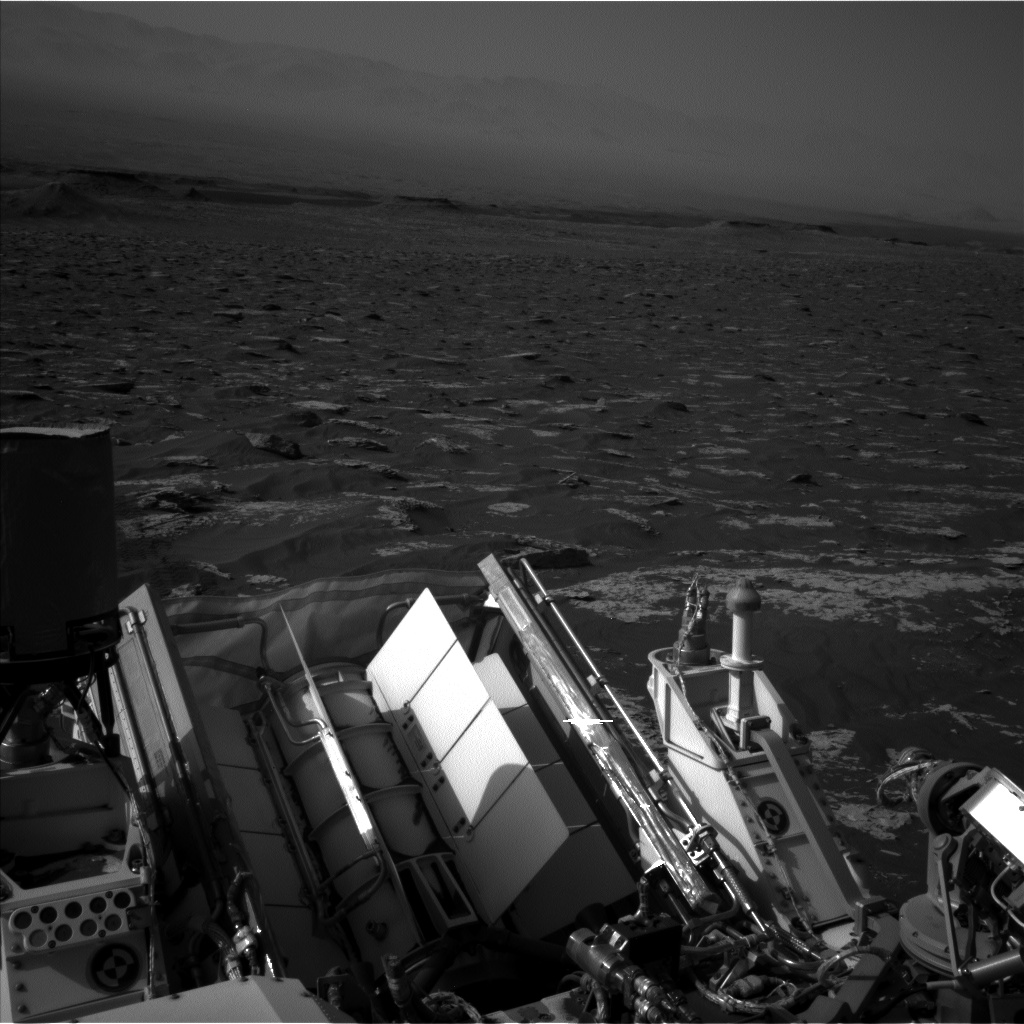 Nasa's Mars rover Curiosity acquired this image using its Left Navigation Camera on Sol 1781, at drive 0, site number 65