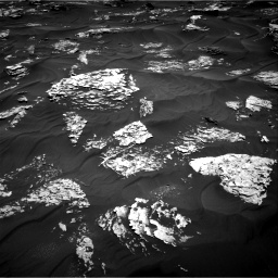 Nasa's Mars rover Curiosity acquired this image using its Right Navigation Camera on Sol 1781, at drive 2796, site number 64