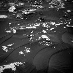 Nasa's Mars rover Curiosity acquired this image using its Right Navigation Camera on Sol 1781, at drive 2856, site number 64