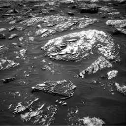 Nasa's Mars rover Curiosity acquired this image using its Right Navigation Camera on Sol 1781, at drive 2982, site number 64