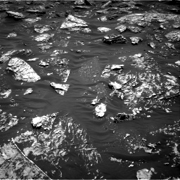 Nasa's Mars rover Curiosity acquired this image using its Right Navigation Camera on Sol 1781, at drive 3006, site number 64