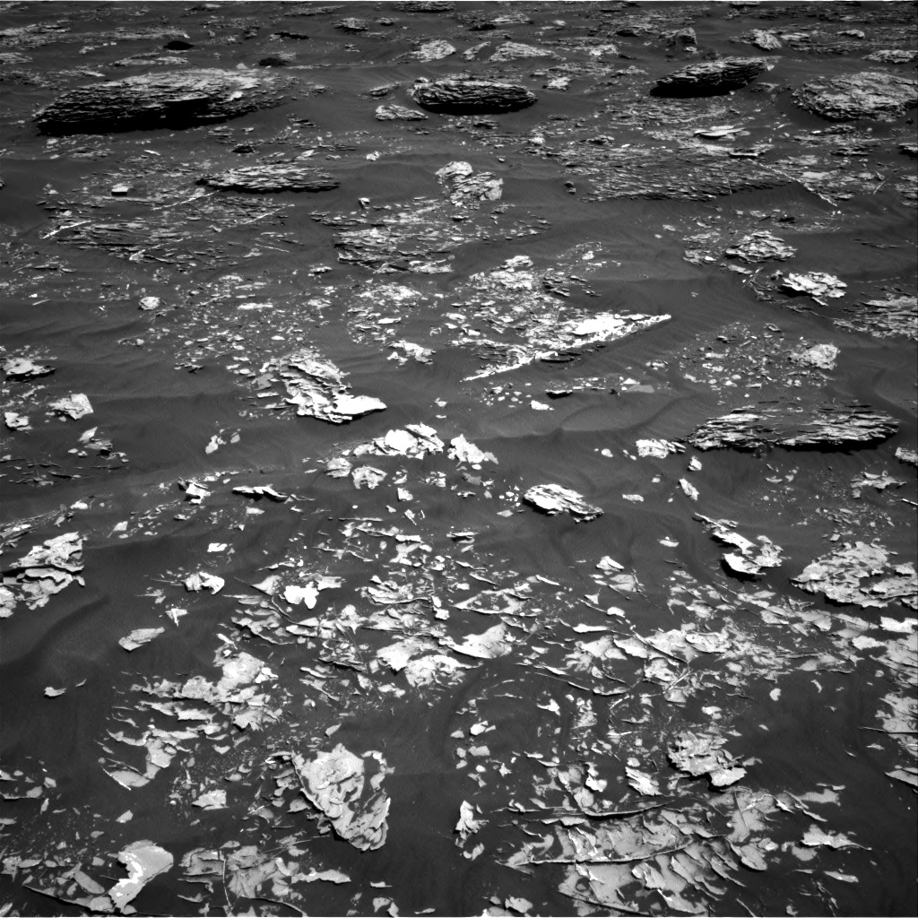 Nasa's Mars rover Curiosity acquired this image using its Right Navigation Camera on Sol 1781, at drive 3054, site number 64