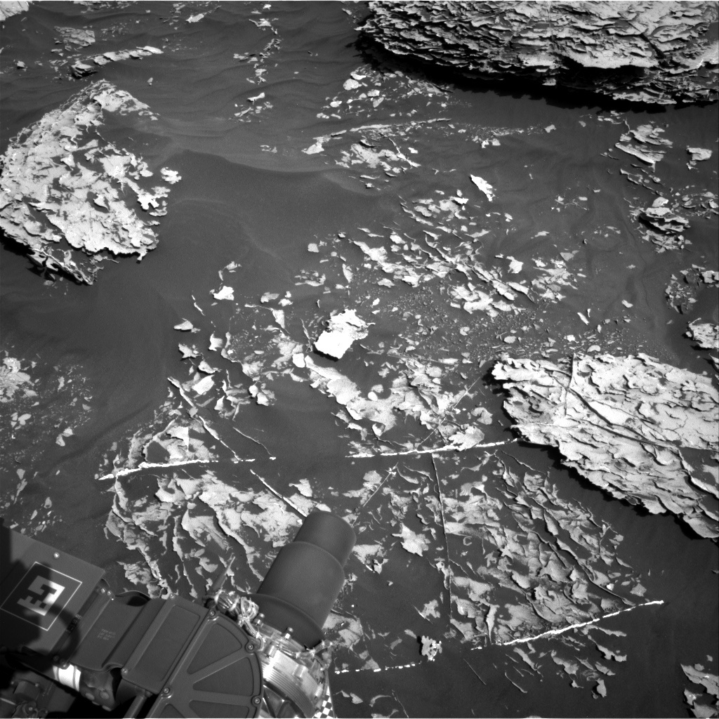 NASA's Mars rover Curiosity acquired this image using its Right Navigation Cameras (Navcams) on Sol 1781