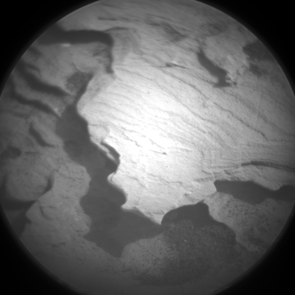 Nasa's Mars rover Curiosity acquired this image using its Chemistry & Camera (ChemCam) on Sol 1782, at drive 156, site number 65