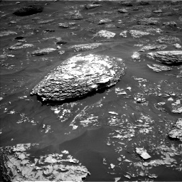 Nasa's Mars rover Curiosity acquired this image using its Left Navigation Camera on Sol 1782, at drive 30, site number 65