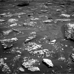 Nasa's Mars rover Curiosity acquired this image using its Left Navigation Camera on Sol 1782, at drive 48, site number 65