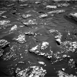 Nasa's Mars rover Curiosity acquired this image using its Left Navigation Camera on Sol 1782, at drive 84, site number 65
