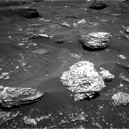 Nasa's Mars rover Curiosity acquired this image using its Left Navigation Camera on Sol 1782, at drive 144, site number 65
