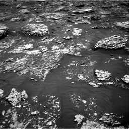 Nasa's Mars rover Curiosity acquired this image using its Right Navigation Camera on Sol 1782, at drive 6, site number 65