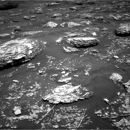 Nasa's Mars rover Curiosity acquired this image using its Right Navigation Camera on Sol 1782, at drive 24, site number 65