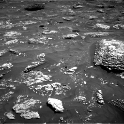 Nasa's Mars rover Curiosity acquired this image using its Right Navigation Camera on Sol 1782, at drive 48, site number 65