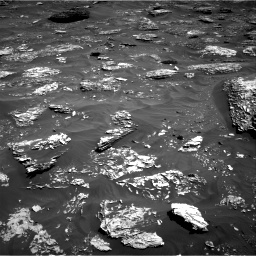 Nasa's Mars rover Curiosity acquired this image using its Right Navigation Camera on Sol 1782, at drive 54, site number 65