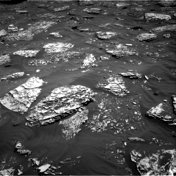 Nasa's Mars rover Curiosity acquired this image using its Right Navigation Camera on Sol 1782, at drive 102, site number 65