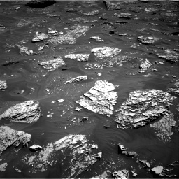 Nasa's Mars rover Curiosity acquired this image using its Right Navigation Camera on Sol 1782, at drive 108, site number 65