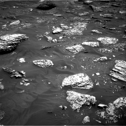 Nasa's Mars rover Curiosity acquired this image using its Right Navigation Camera on Sol 1782, at drive 120, site number 65