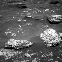 Nasa's Mars rover Curiosity acquired this image using its Right Navigation Camera on Sol 1782, at drive 150, site number 65