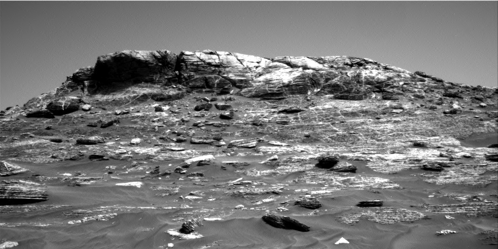 NASA's Mars rover Curiosity acquired this image using its Right Navigation Cameras (Navcams) on Sol 1782
