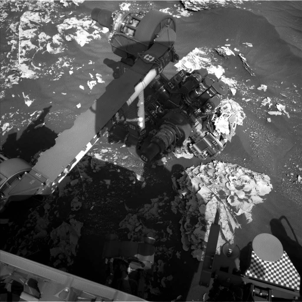 Nasa's Mars rover Curiosity acquired this image using its Left Navigation Camera on Sol 1783, at drive 156, site number 65