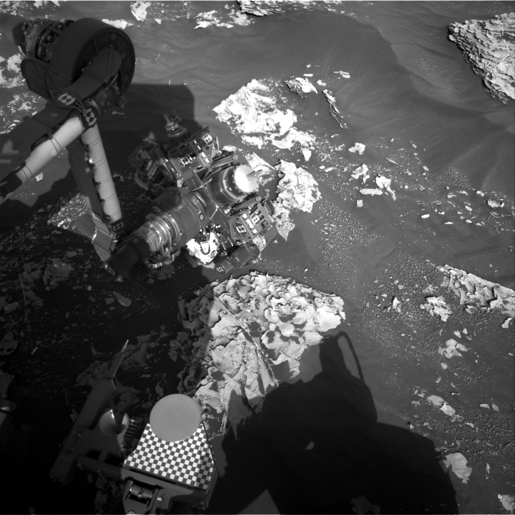 Nasa's Mars rover Curiosity acquired this image using its Right Navigation Camera on Sol 1783, at drive 156, site number 65