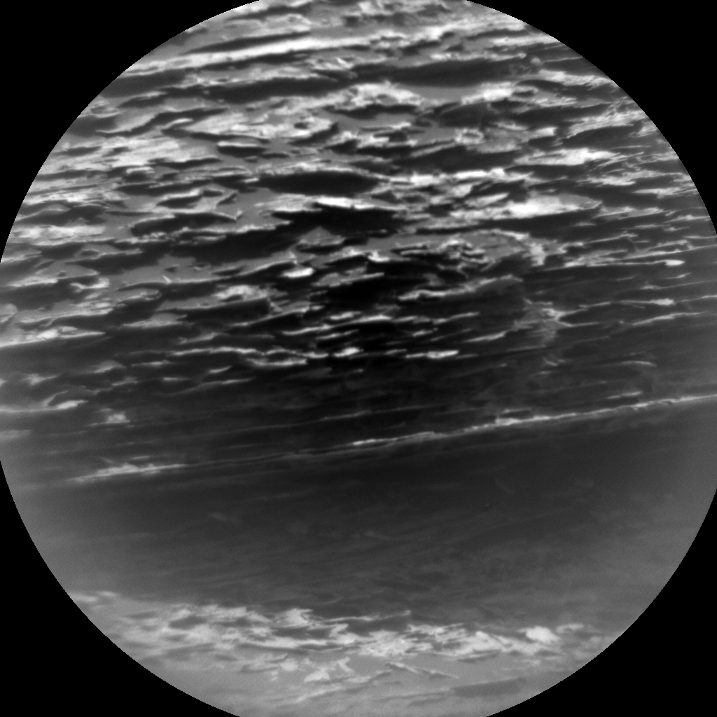 Nasa's Mars rover Curiosity acquired this image using its Chemistry & Camera (ChemCam) on Sol 1783, at drive 156, site number 65