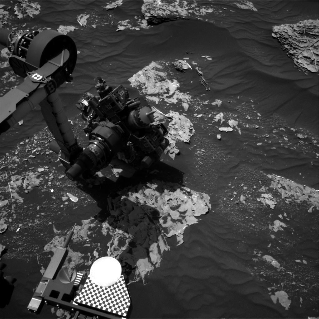 Nasa's Mars rover Curiosity acquired this image using its Right Navigation Camera on Sol 1784, at drive 156, site number 65