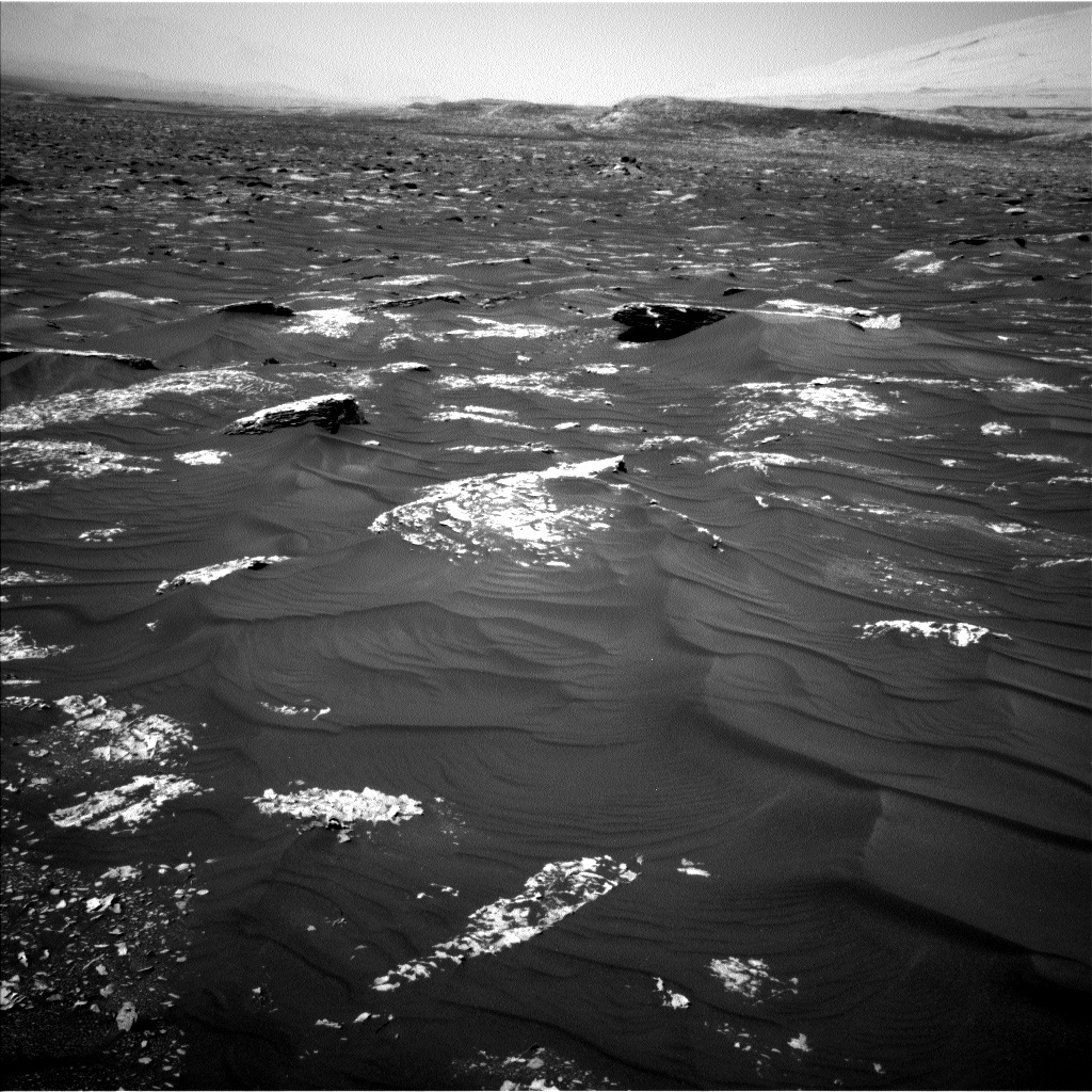 NASA's Mars rover Curiosity acquired this image using its Left Navigation Camera (Navcams) on Sol 1785