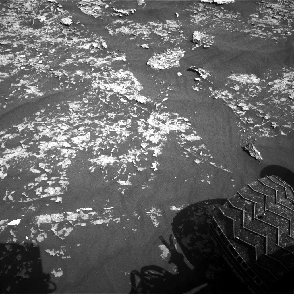 Nasa's Mars rover Curiosity acquired this image using its Left Navigation Camera on Sol 1785, at drive 436, site number 65