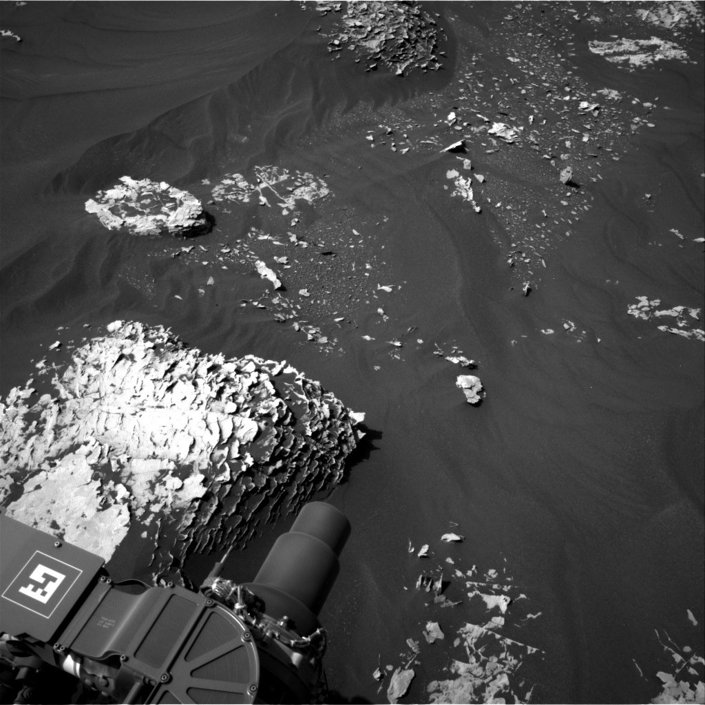 NASA's Mars rover Curiosity acquired this image using its Right Navigation Cameras (Navcams) on Sol 1785