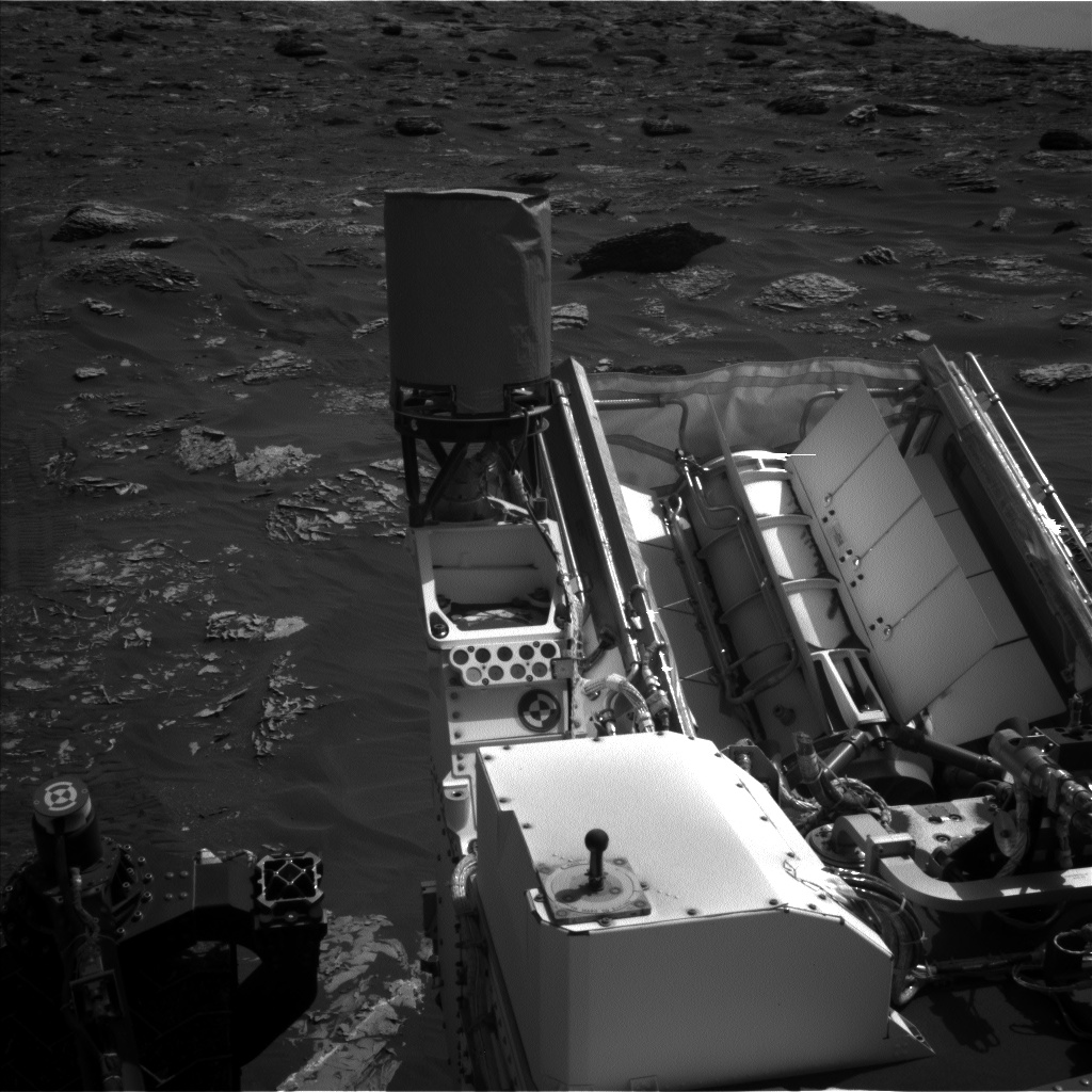 Nasa's Mars rover Curiosity acquired this image using its Left Navigation Camera on Sol 1786, at drive 550, site number 65