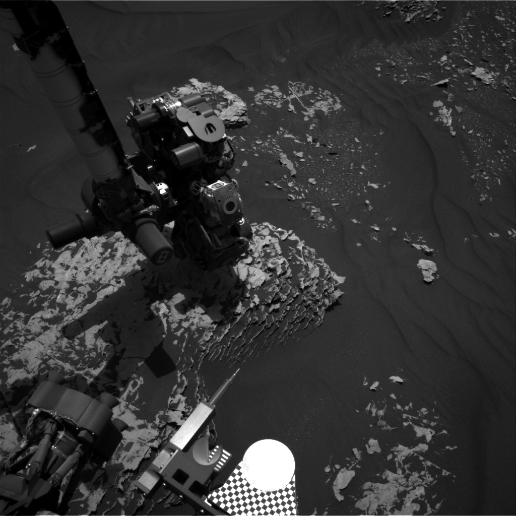 Nasa's Mars rover Curiosity acquired this image using its Right Navigation Camera on Sol 1786, at drive 436, site number 65