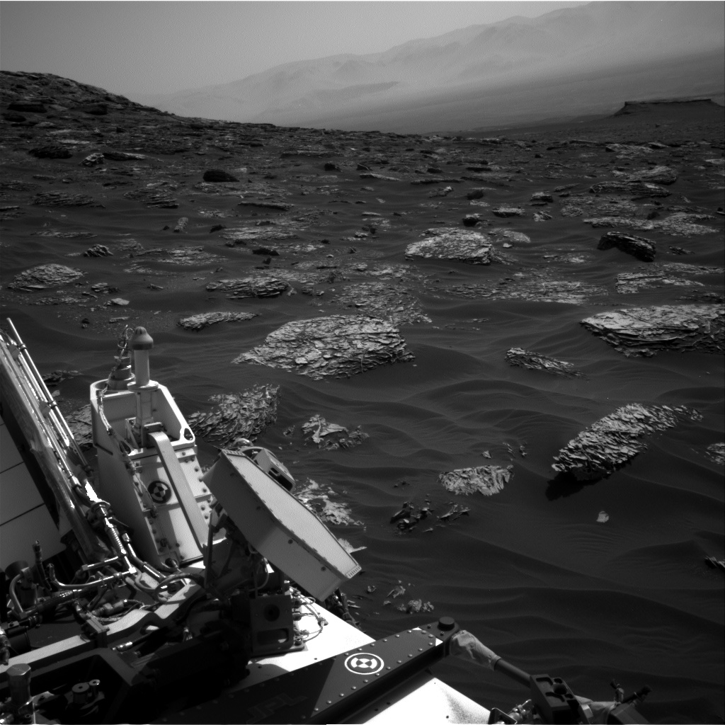 Nasa's Mars rover Curiosity acquired this image using its Right Navigation Camera on Sol 1786, at drive 550, site number 65