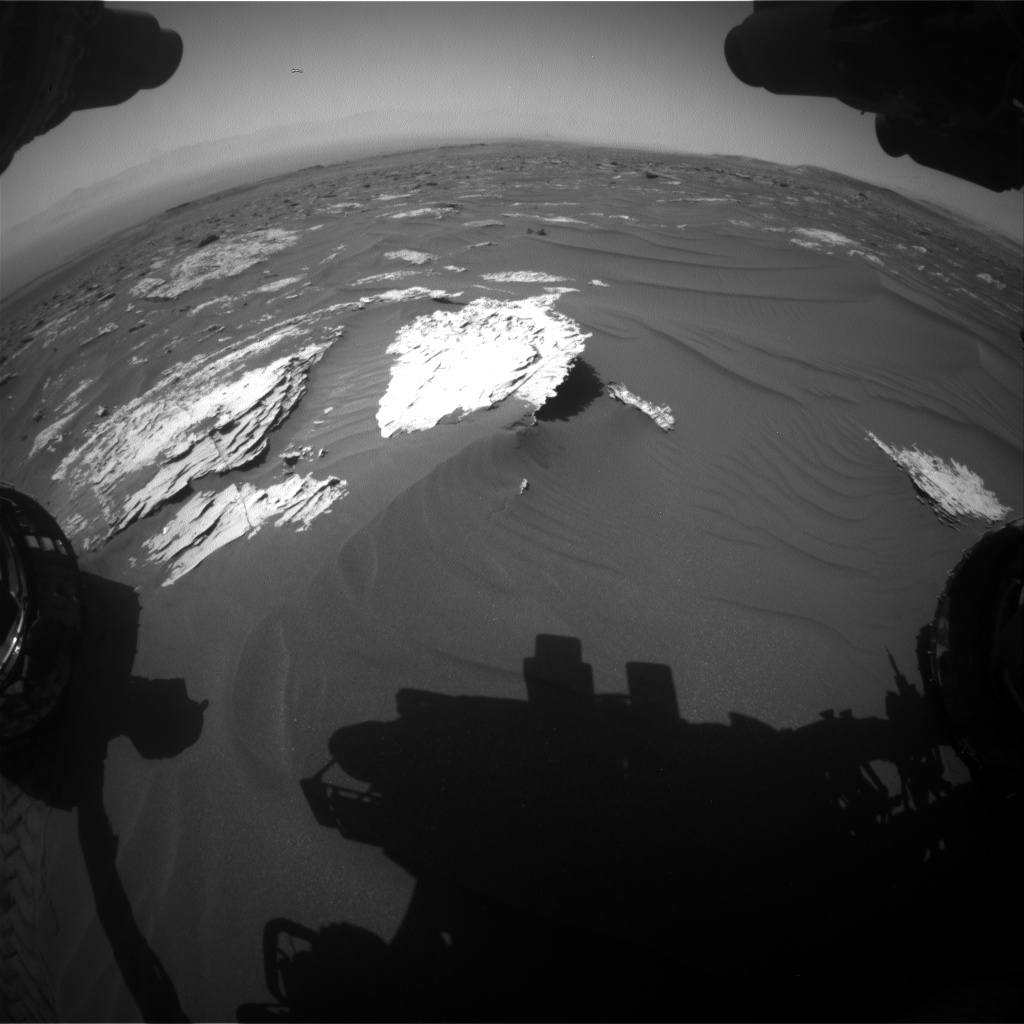 Nasa's Mars rover Curiosity acquired this image using its Front Hazard Avoidance Camera (Front Hazcam) on Sol 1787, at drive 646, site number 65