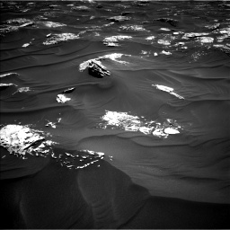 Nasa's Mars rover Curiosity acquired this image using its Left Navigation Camera on Sol 1787, at drive 592, site number 65
