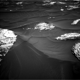 Nasa's Mars rover Curiosity acquired this image using its Left Navigation Camera on Sol 1787, at drive 622, site number 65