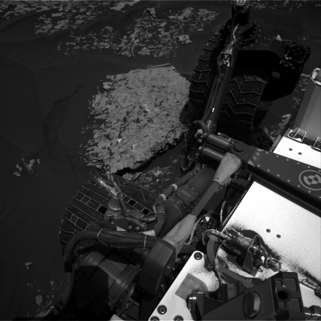 Nasa's Mars rover Curiosity acquired this image using its Right Navigation Camera on Sol 1787, at drive 550, site number 65