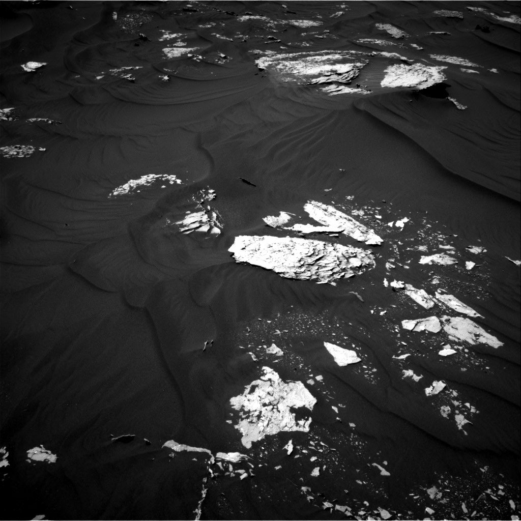Nasa's Mars rover Curiosity acquired this image using its Right Navigation Camera on Sol 1787, at drive 610, site number 65