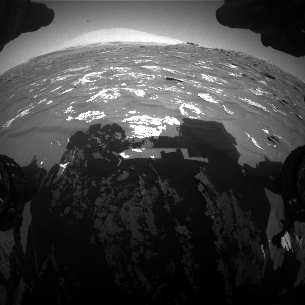 Nasa's Mars rover Curiosity acquired this image using its Front Hazard Avoidance Camera (Front Hazcam) on Sol 1788, at drive 916, site number 65