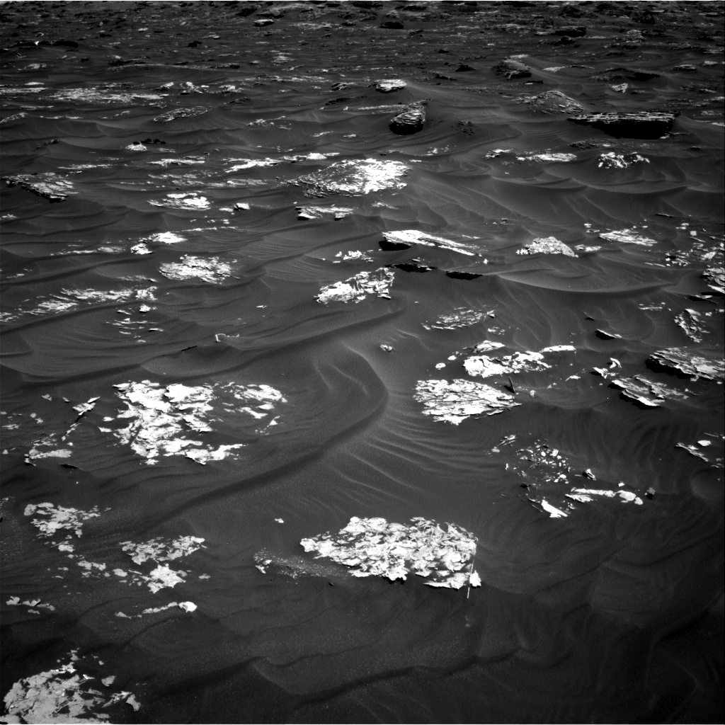 Nasa's Mars rover Curiosity acquired this image using its Right Navigation Camera on Sol 1788, at drive 916, site number 65