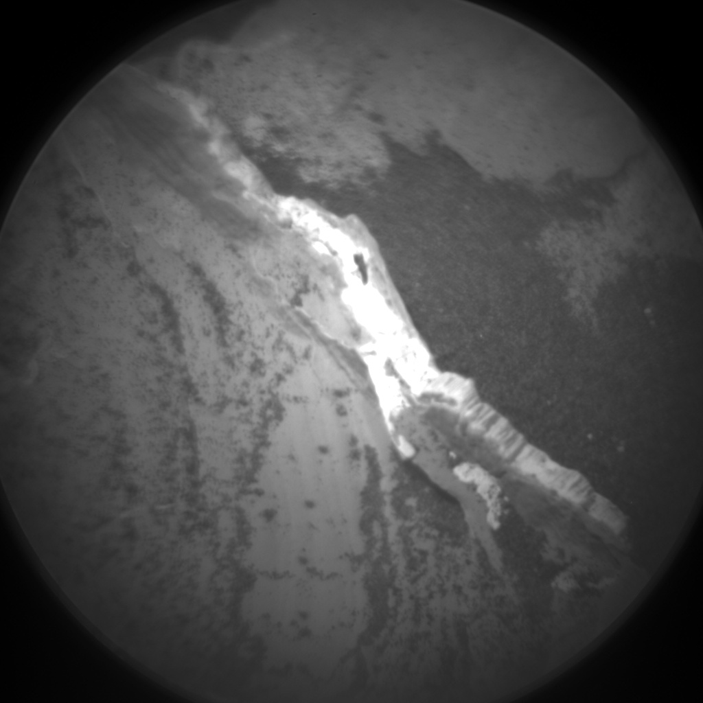 Nasa's Mars rover Curiosity acquired this image using its Chemistry & Camera (ChemCam) on Sol 1789, at drive 916, site number 65