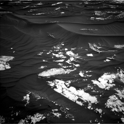 Nasa's Mars rover Curiosity acquired this image using its Left Navigation Camera on Sol 1789, at drive 1000, site number 65